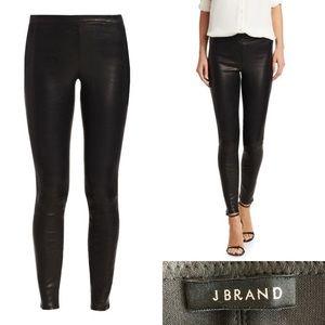 J Brand black leather legging Size L